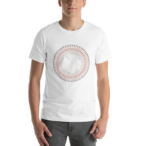 Hexagram / Amino Acid chart T-Shirt EN