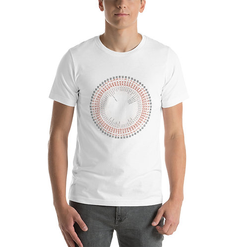 Hexagram / Amino Acid chart T-Shirt RU