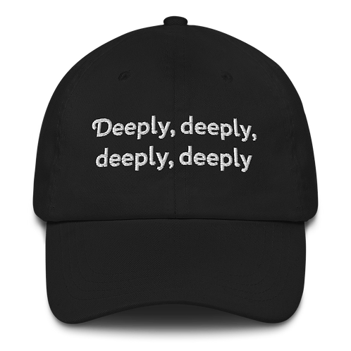 'deeply' Ra's quote hat