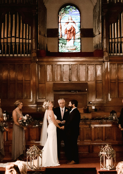 Say I Do in our sanctuary