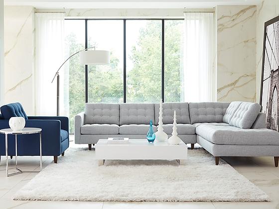 Mitchell corner couch + Chair