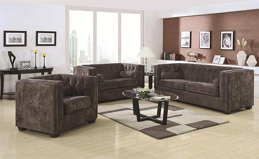 Malibu 3pc Sofa Set