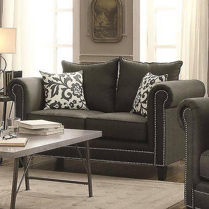 Baxton 3pc Sofa Set