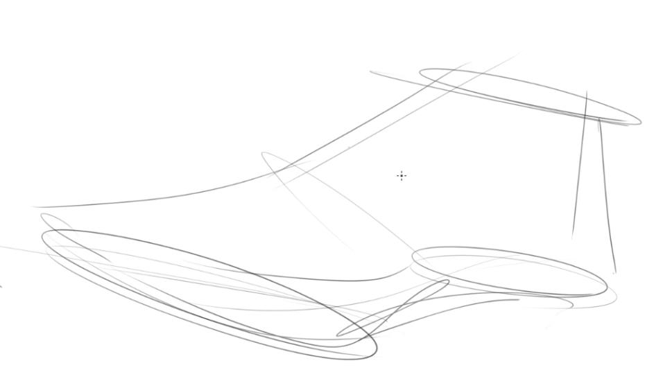 Draw Shoe Last Step 1