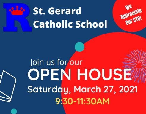 6th-12th New ROYALS Welcome - StG Open House