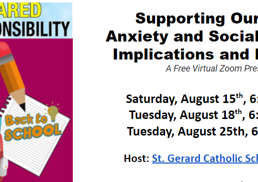 "Supporting Our Royals ""Back to School Anxiety & Social-Emotional Implications and Resources"""