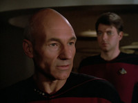 TNG: Encounter at Farpoint - Transcript