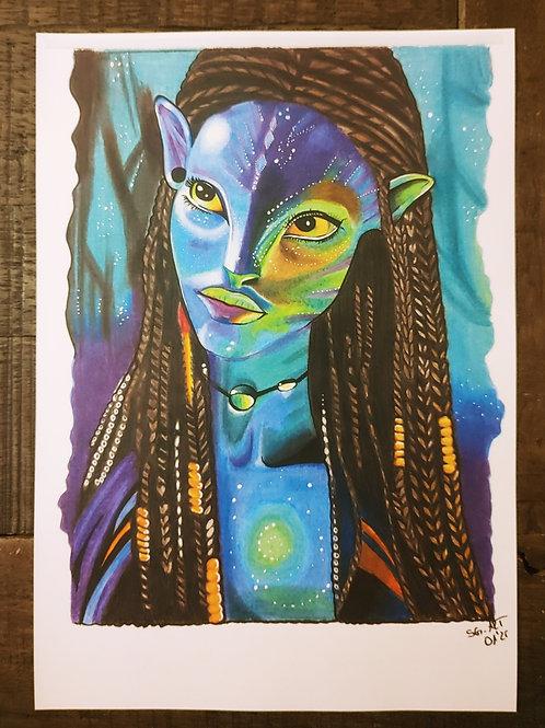 Avatar Druck vom Original
