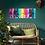 Thumbnail: Acrylbild bunte Farbexplosion abstrakt