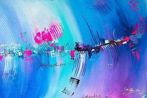 Acrylbild Einklang abstrakt