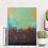 Thumbnail: Acrylbild braun grün abstrakt