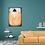 Thumbnail: Acrylbild Baum orange, braun