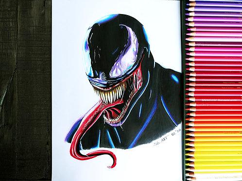Druck von Venom Bild