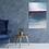 """Thumbnail: Acrylbild """"blue sea"""" abstrakt, modern Neu"""