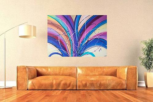 Acrylbild abstrakt