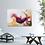 "Thumbnail: Acrylbild abstrakt Neu ""Fokus"" Gold Magenta"
