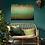 Thumbnail: Acrylbild abstrakt grüngold Natur