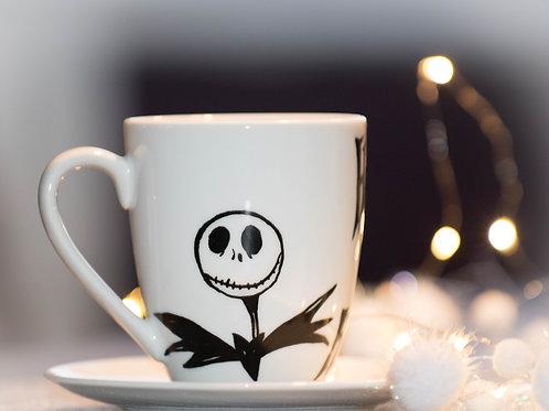 Tasse bemalt Handmade A Nightmare before Christmas