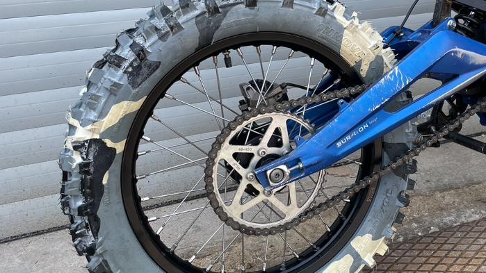 Motorcycle wheels & wheelsets