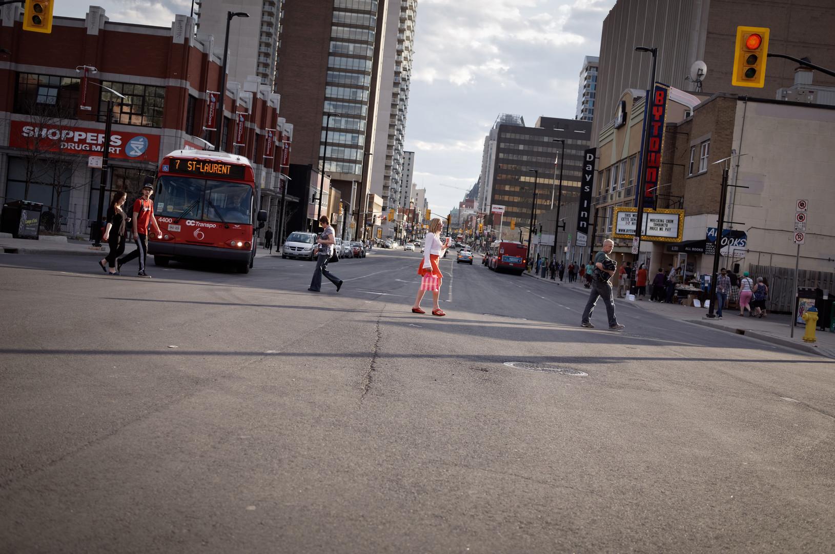 Mode of transport Red Asphalt Pedestrian