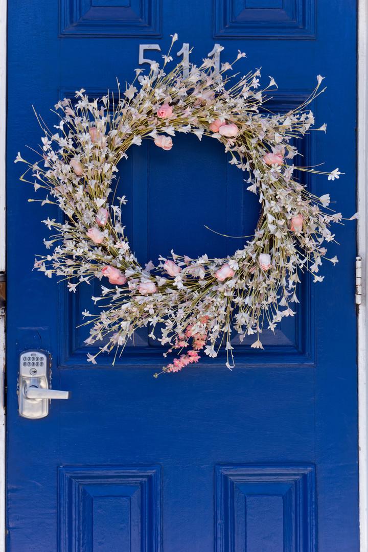 Sibi Wreath Blue Majorelle blue
