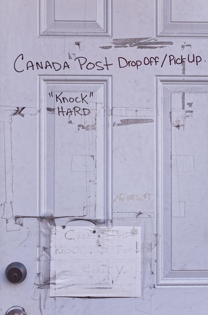 Upy Text Font Wall Door Design