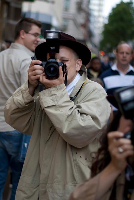 Camera operator Trench coat human