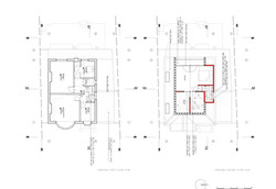 Proposed First & Loft floor palns