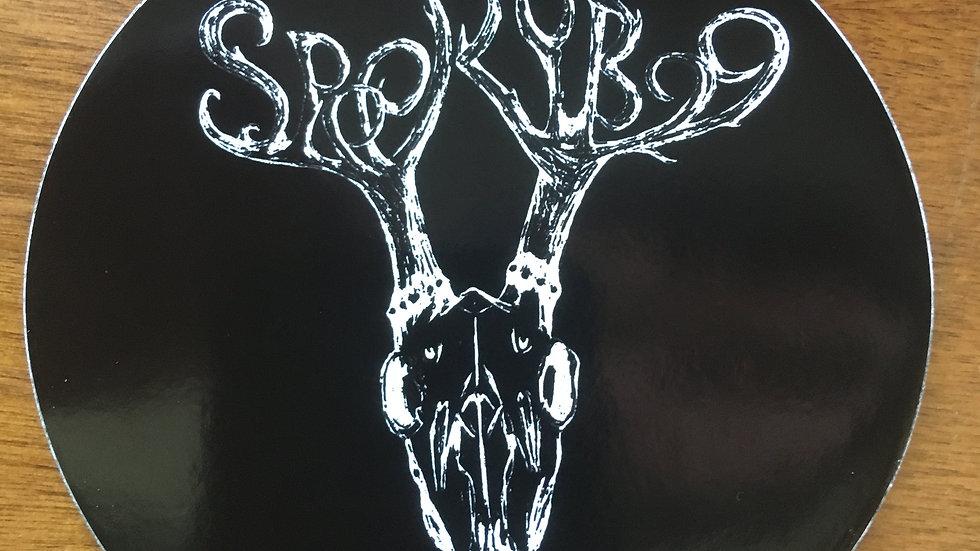 Spooky Boo Sticker