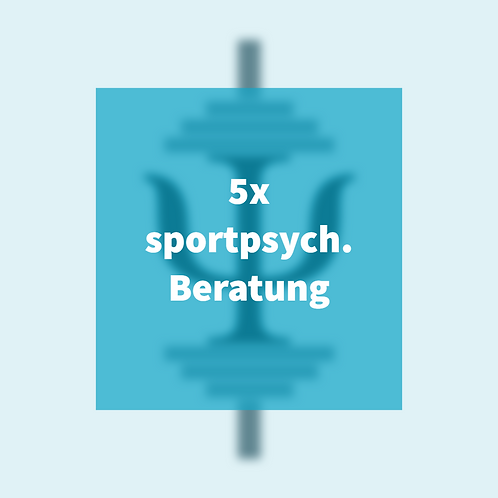 5x sportpsychologische Beratung