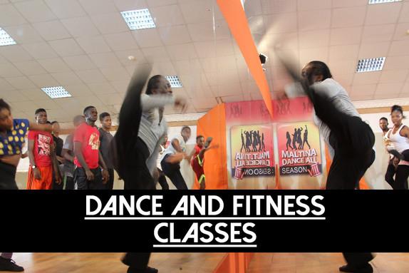 DANCE & FITNESS CLASSES