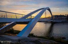 Foot Bridge Sunset