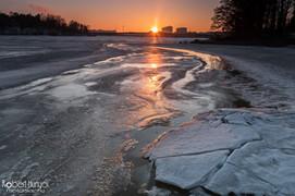 Melting Bay Sunset