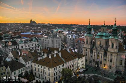 Prague Old Town Sunset
