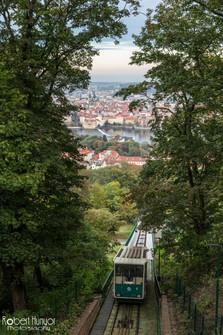 Prague Trolly City View