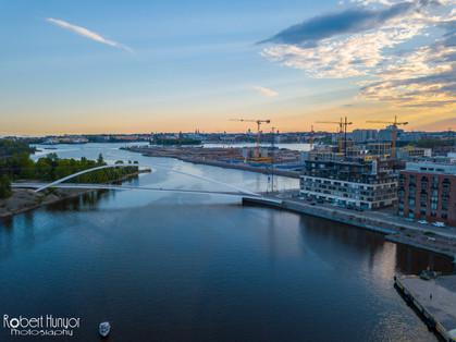 Sunset Over Helsinki - DJI