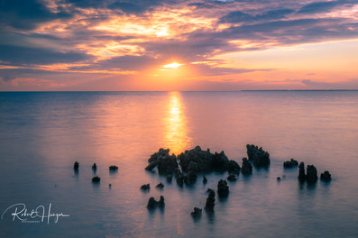 Saxis Beach Sunset