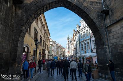 Prague Archway View
