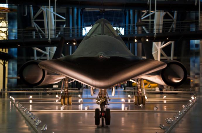 SR-71 Blackbird - Air and Space Museum Chantilly, VA