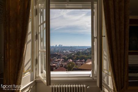 Prague Castle Window View
