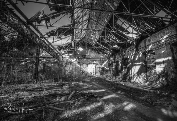 Dilapidated Train Yard