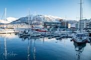 Downtown Tromsø, Norway