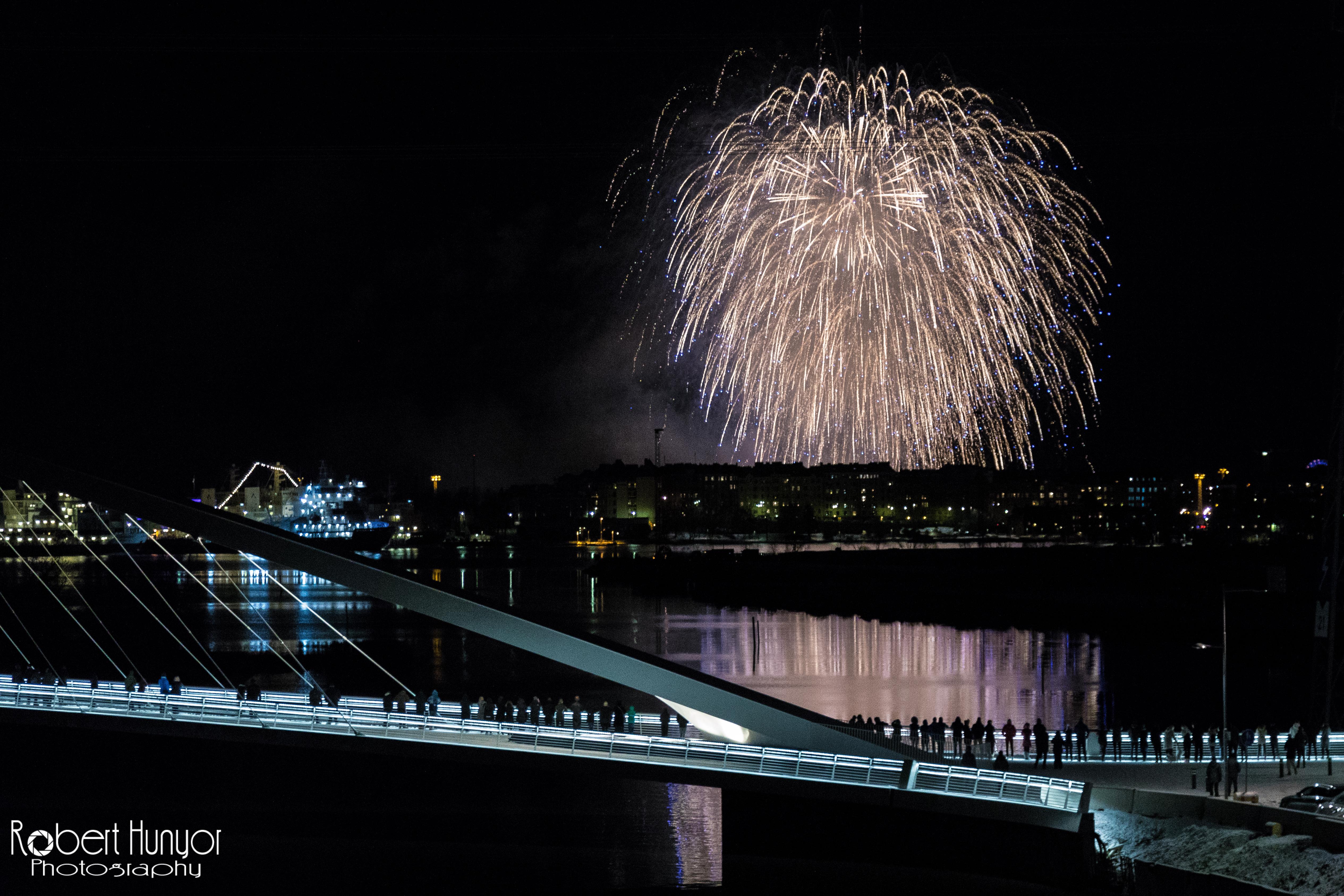 Suomi 100 - Fireworks