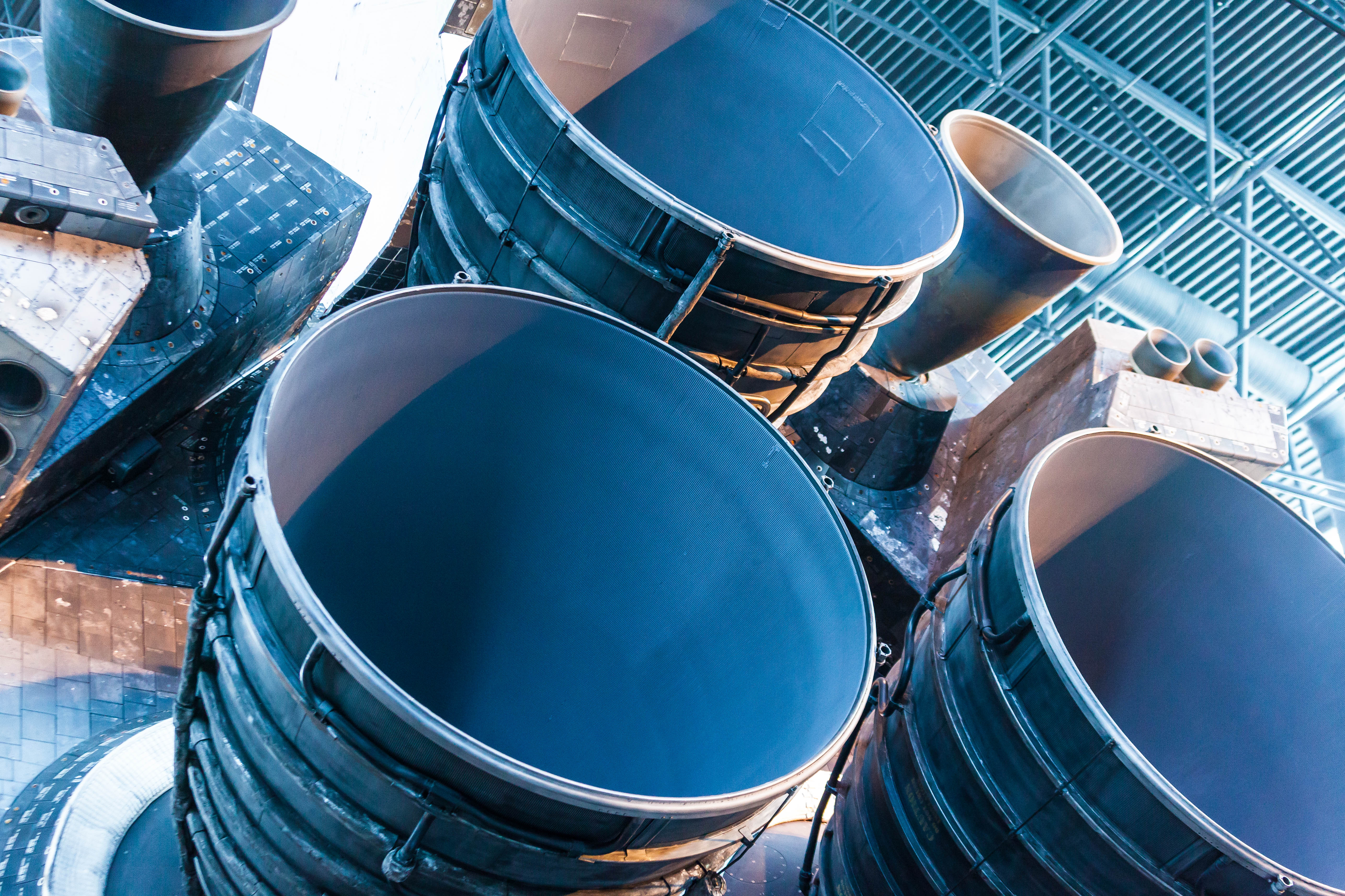 Space Shuttle Discovery Engine