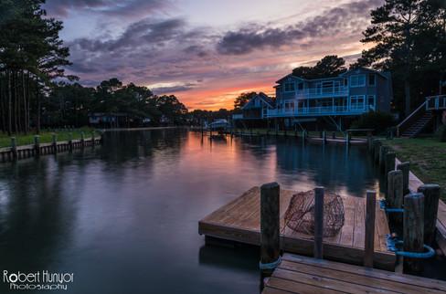 Chincoteague Bay Sunset