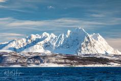 Mountains of Tromsø, Norway