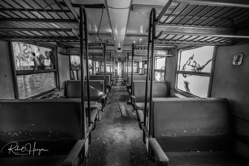 Abandoned Train Interrior