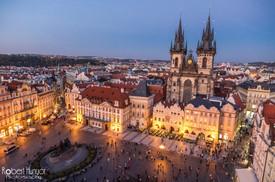 Prague Old Town at Night