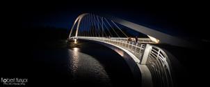 Foot Bridge at Night