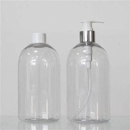 Refillable liquid soap bottles